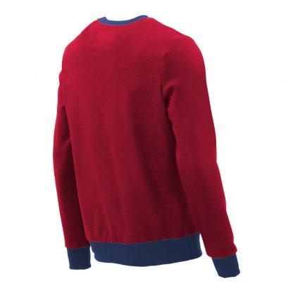 Pullover mit V-Ausschnitt_fairtrade_rot_7LMLID_rueck