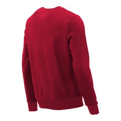Pullover mit V-Ausschnitt_fairtrade_rot_DQ01N1_rueck