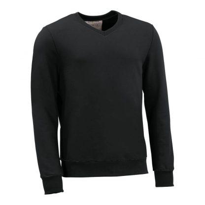 Pullover mit V-Ausschnitt_fairtrade_schwarz_A8LNTX_front