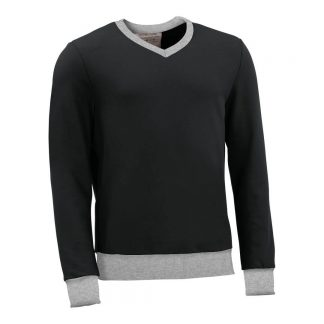 Pullover mit V-Ausschnitt_fairtrade_schwarz_OK6977_front