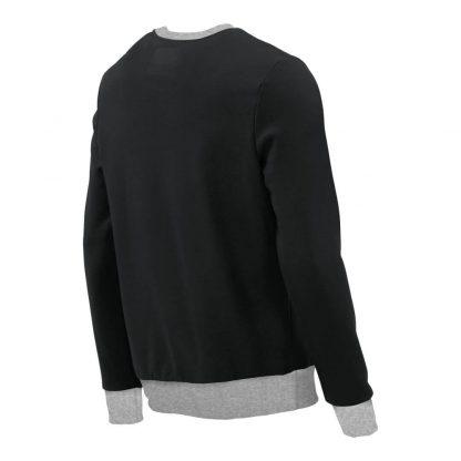 Pullover mit V-Ausschnitt_fairtrade_schwarz_OK6977_rueck