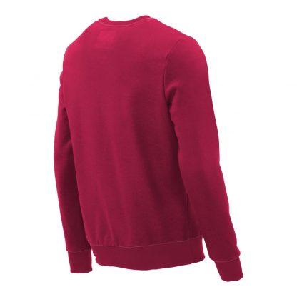 Pullover mit V-Ausschnitt_fairtrade_weinrot_NQQDHG_rueck