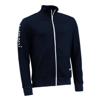 Stehkragenjacke_fairtrade_marineblau_RE5W8P_front