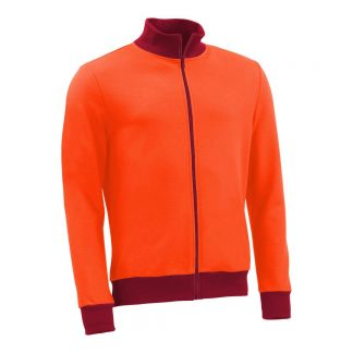 Stehkragenjacke_fairtrade_orange_DL5UY6_front
