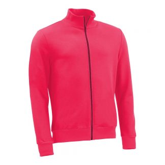 Stehkragenjacke_fairtrade_pink_K26IS5_front