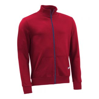 Stehkragenjacke_fairtrade_rot_BS51SF_front