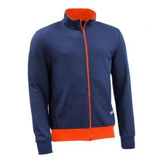 Sweatjacke_fairtrade_blau_G0X85M_front