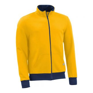 Sweatjacke_fairtrade_gelb_VBCY79_front