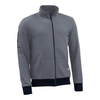 Sweatjacke_fairtrade_grau_KDMQ5H_front