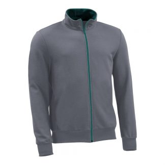 Sweatjacke_fairtrade_grau_LE2FCX_front