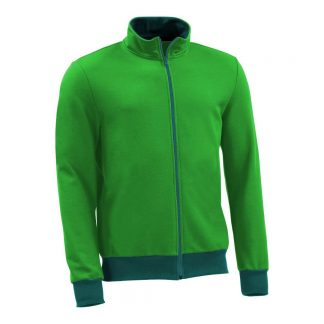 Sweatjacke_fairtrade_gruen_I9KIP6_front
