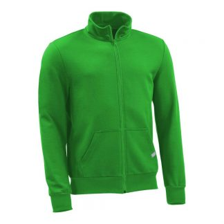 Sweatjacke_fairtrade_gruen_NH73PB_front