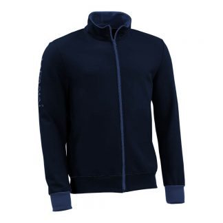 Sweatjacke_fairtrade_marineblau_FOKWO4_front