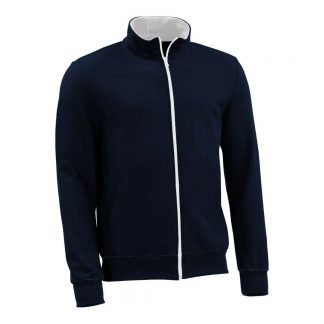 Sweatjacke_fairtrade_marineblau_IMR8XK_front