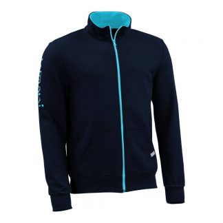 Sweatjacke_fairtrade_marineblau_JYHRUW_front