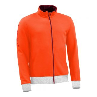 Sweatjacke_fairtrade_orange_SP3K2Q_front