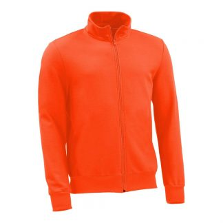 Sweatjacke_fairtrade_orange_T3MH5A_front