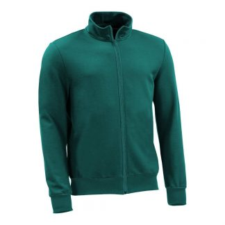 Sweatjacke_fairtrade_petrol_T5FP39_front