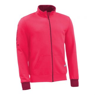 Sweatjacke_fairtrade_pink_AWCUM2_front