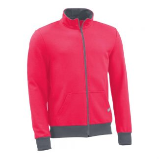Sweatjacke_fairtrade_pink_Q6FDO6_front