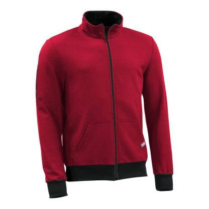 Sweatjacke_fairtrade_rot_AS21X5_front