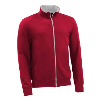 Sweatjacke_fairtrade_rot_CIVZBL_front