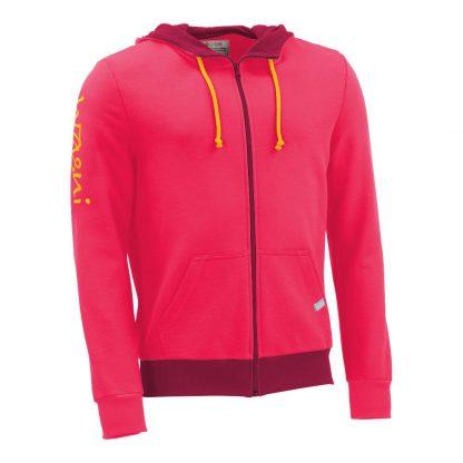 Zipper_fairtrade_pink_XZ2Y7D_front