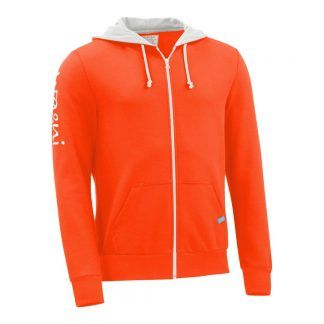 Kapuzenjacke_fairtrade_orange_38FJVE_front