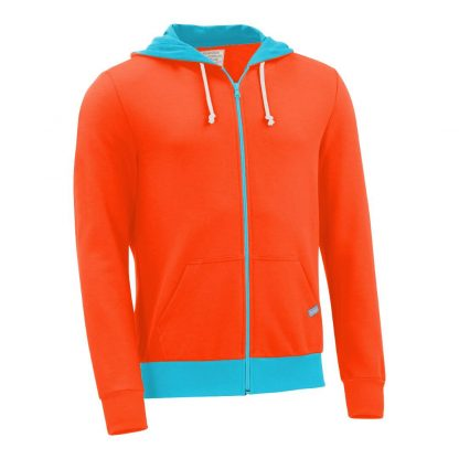 Kapuzenjacke_fairtrade_orange_51JBBA_front
