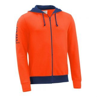 Kapuzenjacke_fairtrade_orange_Q43BMT_front