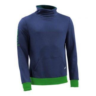 Pullover mit Schalkragen_fairtrade_blau_BZL20L_front