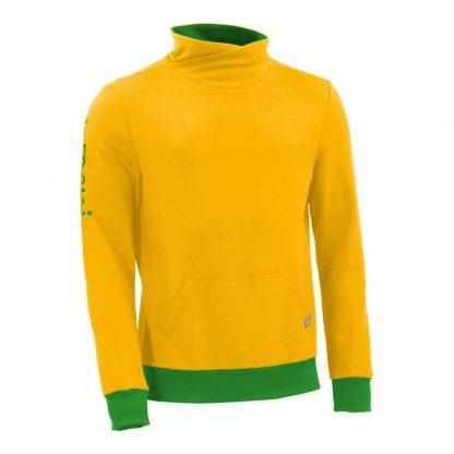 Pullover mit Schalkragen_fairtrade_gelb_TA3RUI_front