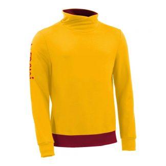 Pullover mit Schalkragen_fairtrade_gelb_YZLXUM_front