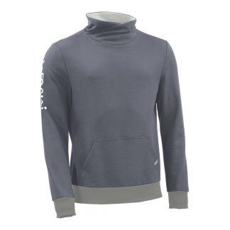 Pullover mit Schalkragen_fairtrade_grau_I60MZF_front