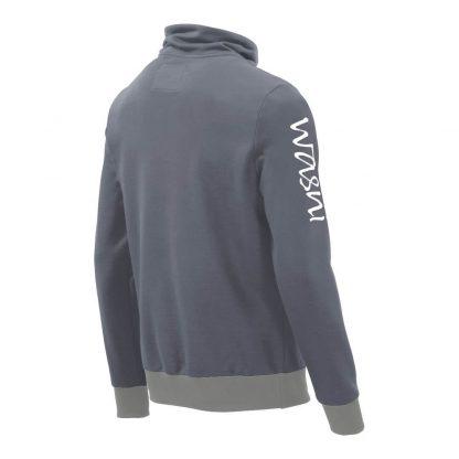 Pullover mit Schalkragen_fairtrade_grau_I60MZF_rueck