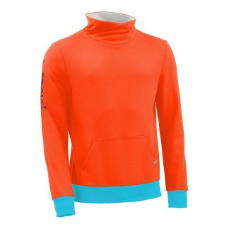 Pullover mit Schalkragen_fairtrade_orange_S8ZUQY_front