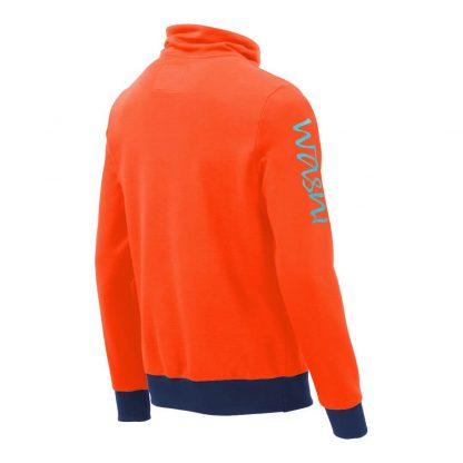 Pullover mit Schalkragen_fairtrade_orange_ZBJCBB_rueck