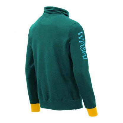 Pullover mit Schalkragen_fairtrade_petrol_H1ZWEL_rueck