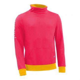 Pullover mit Schalkragen_fairtrade_pink_4AFP8J_front