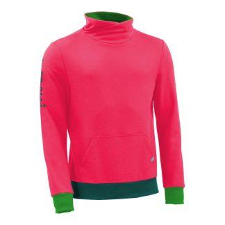 Pullover mit Schalkragen_fairtrade_pink_J6M2FL_front