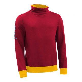 Pullover mit Schalkragen_fairtrade_rot_G7RGZG_front