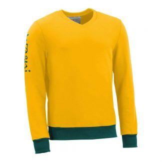 Pullover mit V-Ausschnitt_fairtrade_gelb_0Z8LJG_front