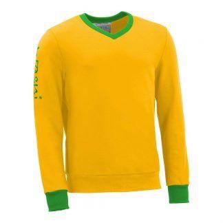 Pullover mit V-Ausschnitt_fairtrade_gelb_Q4NNUC_front