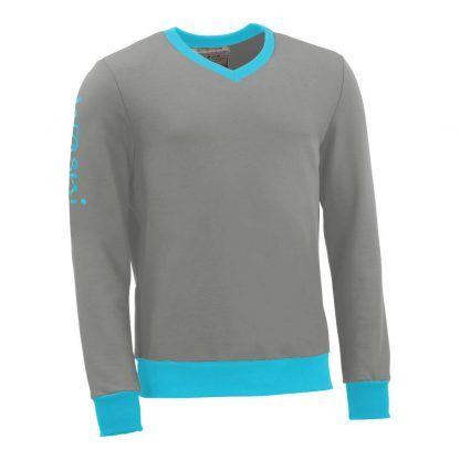 Pullover mit V-Ausschnitt_fairtrade_grau_U7E2QM_front
