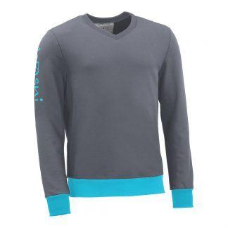 Pullover mit V-Ausschnitt_fairtrade_grau_WZ9K4V_front