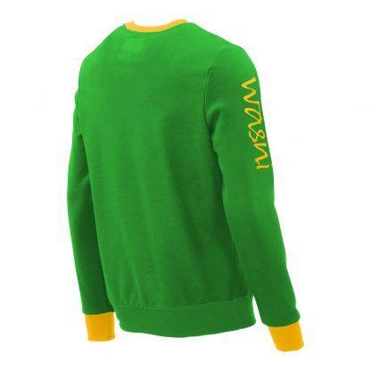 Pullover mit V-Ausschnitt_fairtrade_gruen_8PWHZK_rueck