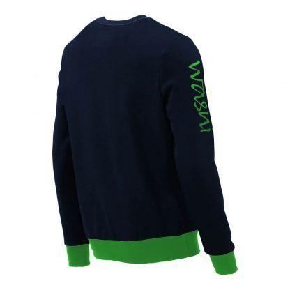 Pullover mit V-Ausschnitt_fairtrade_marineblau_3R6NIX_rueck