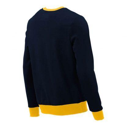Pullover mit V-Ausschnitt_fairtrade_marineblau_KJDI6S_rueck