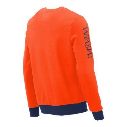 Pullover mit V-Ausschnitt_fairtrade_orange_LSS6ON_rueck