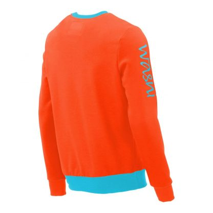 Pullover mit V-Ausschnitt_fairtrade_orange_UO4JU2_rueck
